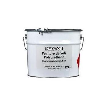 Peinture sol bi-composants Plastor pro 12L Gris