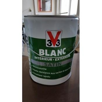 Peinture V33 5L blanc Glycéro.