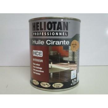 Huile cirante HELIOTAN PROFESSIONNEL 0.75L naturel mat