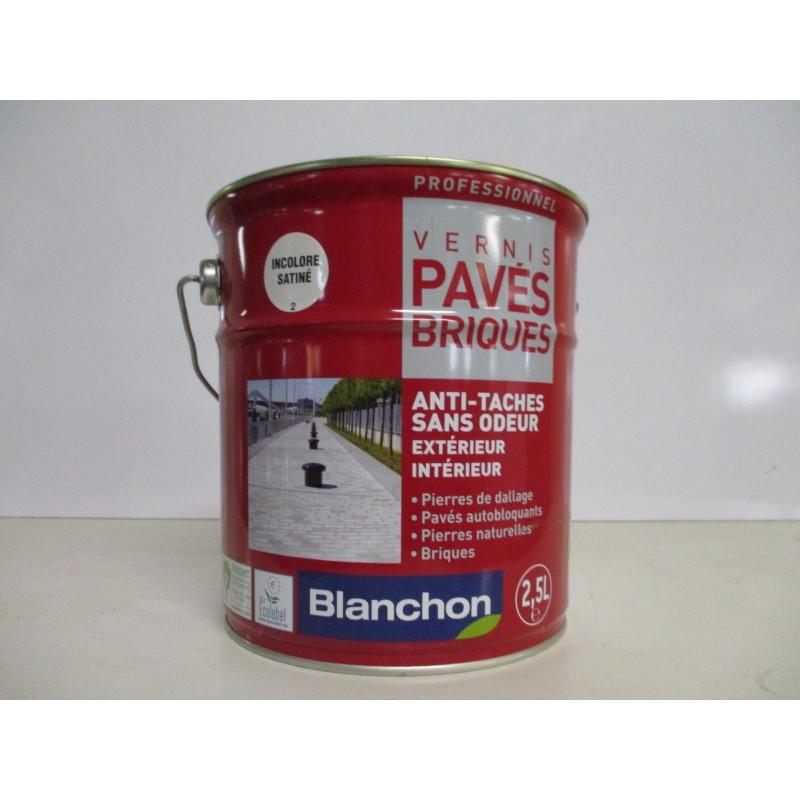 Vernis pavés briques PROFESSIONNEL BLANCHON 2.5L incolore satiné