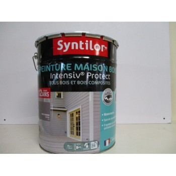 Peinture maison bois INTENSIV PROTECT SYNTILOR 8L satin