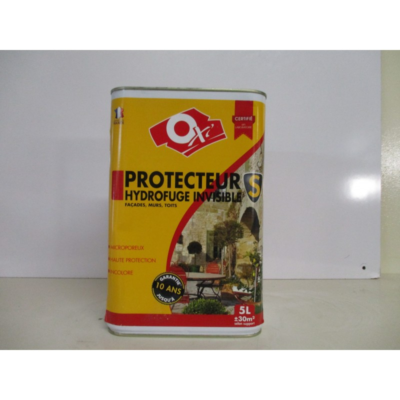 Protecteur façades, murs, toits incolore OXI 5L