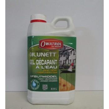Dilunett gel décapant à l'eau OWATROL 2.5L