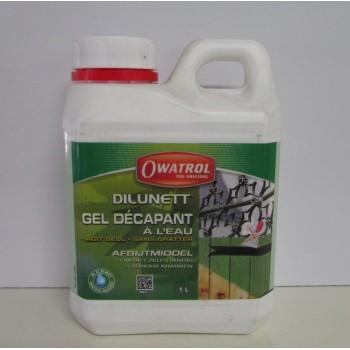 Dilunett gel décapant à l'eau OWATROL 1L