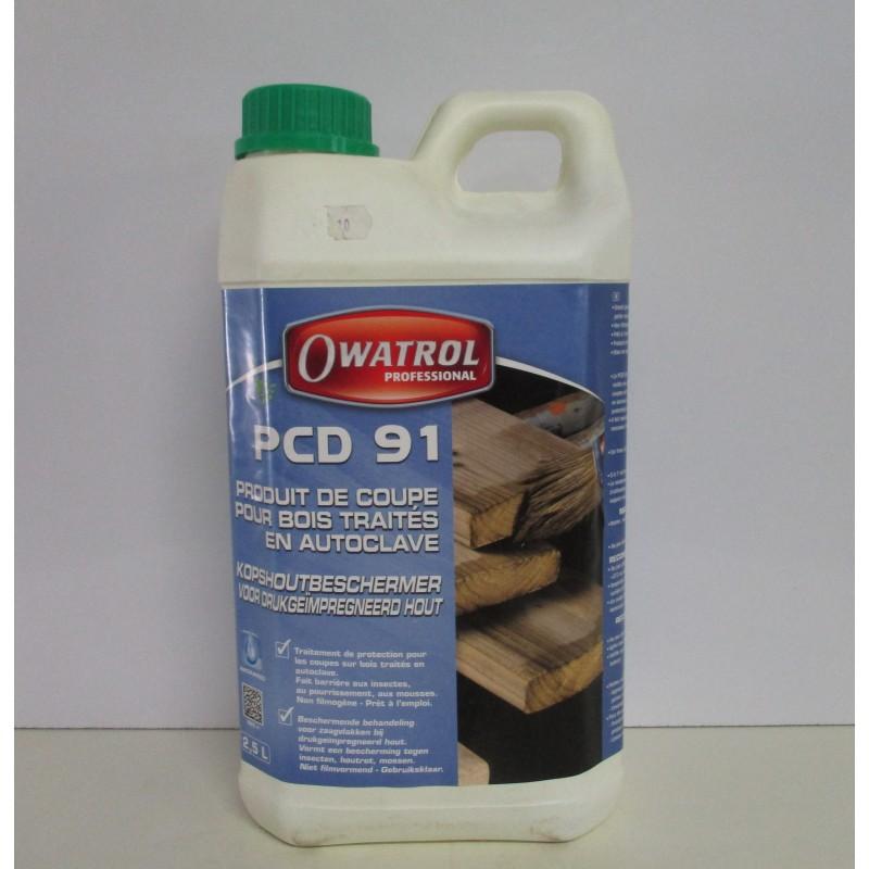 Produit de coupe pcd 91 owatrol professionnel 2 5l en for Produit de lustrage professionnel