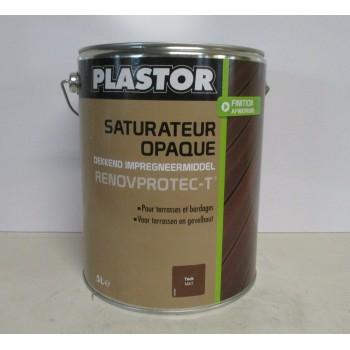 Achetez à Lempdes Saturateur opaque RENOVPROTECT-T PLASTOR 5L teck mat