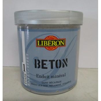 Achetez à Lempdes Enduit minéral effet béton LIBERON 1L