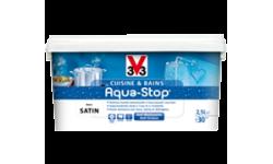 Peinture cuisine et bains Aqua-Stop V33 2.5L