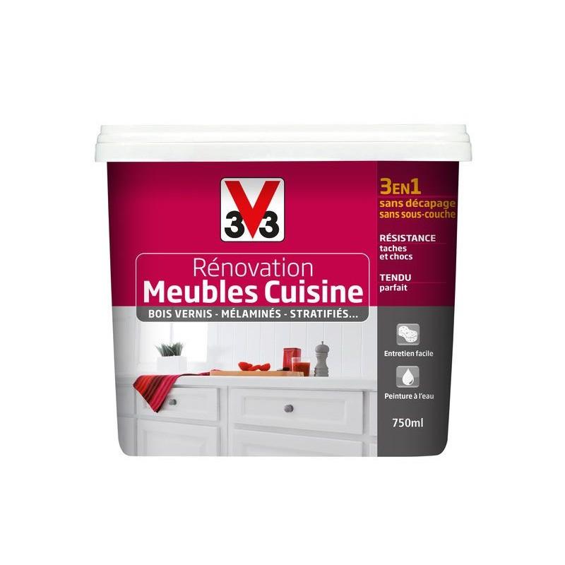 Peinture Rénovation Meubles Cuisine V33 750ml 2l