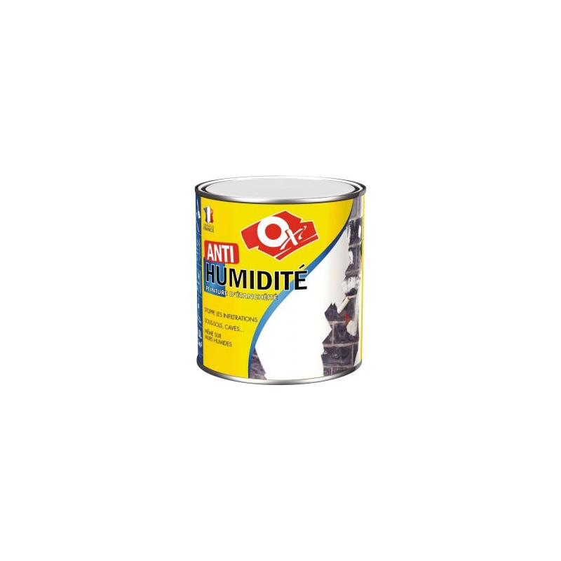 Peinture Anti Humidité Oxi 0.5L Blanc Mat En Promotion