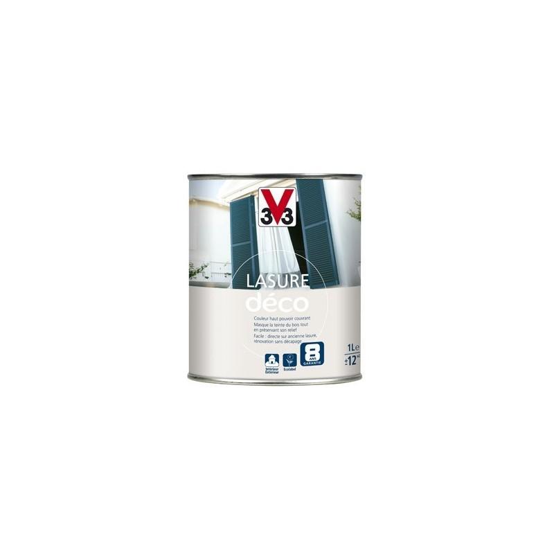 Lasure Déco Opaque Mat V33 Couleur 1l Et 25l