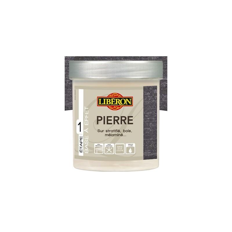 Base a effet pierre liberon 500ml en promotion for Peinture liberon effet ceruse