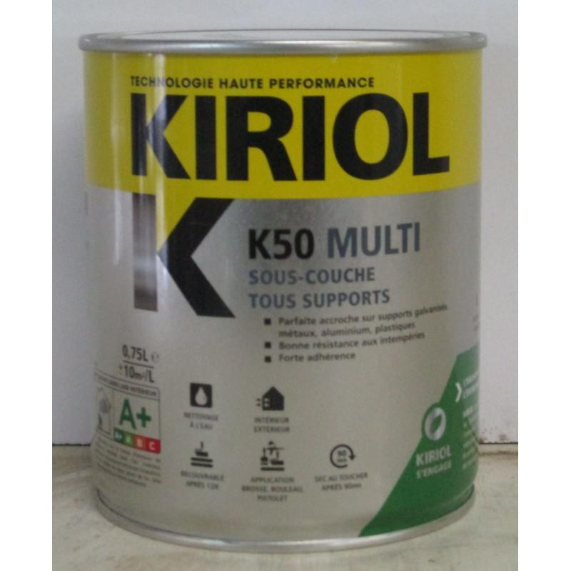 K50 multi sous couche tous supports kiriol for Lasure bois interieur