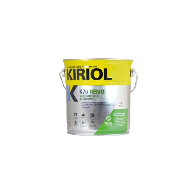 K70 reno multisupport ext rieur kiriol satin en promotion for Peinture multisupport exterieur