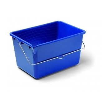 Camion rectangulaire bleu
