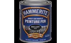 Peinture fer Hammerite Direct sur Rouille brillante