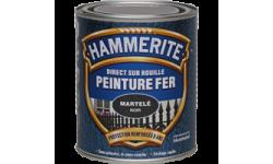 Peinture fer Hammerite Direct sur Rouille martelée