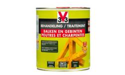 V33 Traitement Poutres et Charpentes 5L