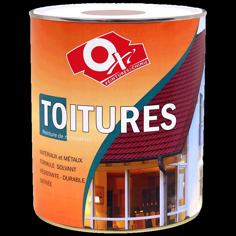 Peinture de r novation sp ciale toitures oxi 2 5 l for Peinture speciale cuisine